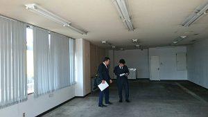 北海道トランクルーム視察