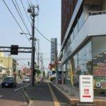 トランクルーム候補店舗を内見してます-北海道札幌市白石区