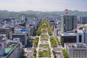 札幌地方都市