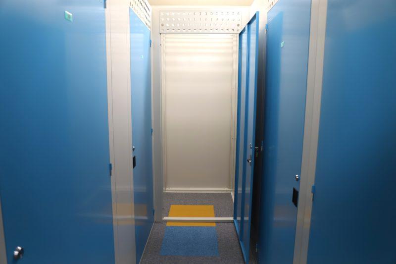 トランクルーム札幌屋内写真