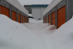 札幌市コンテナ雪
