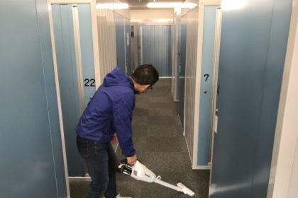 トランクルームの日常清掃