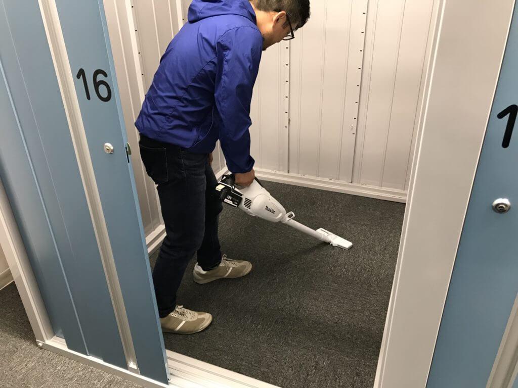 トランクルーム清掃