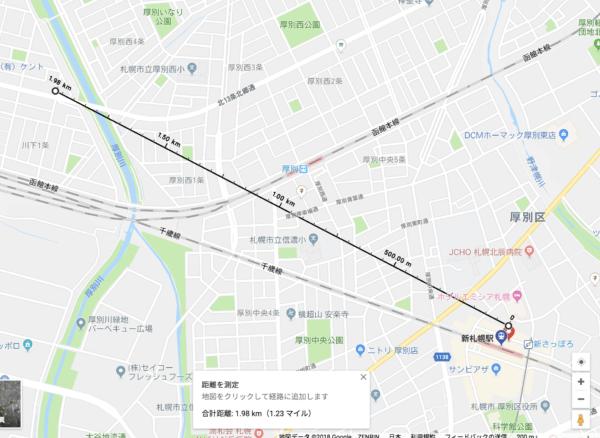 新札幌駅トランクルーム商圏