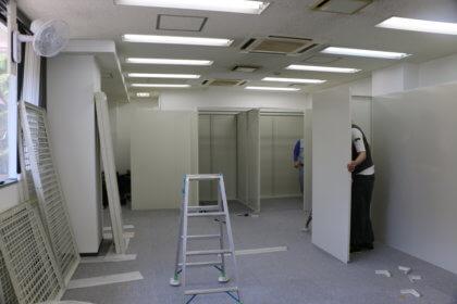トランクルーム設置工事