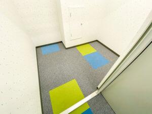 福住のトランクルーム床面